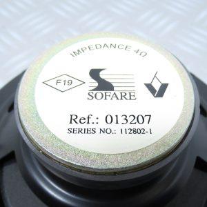 Haut parleur Renault 013207