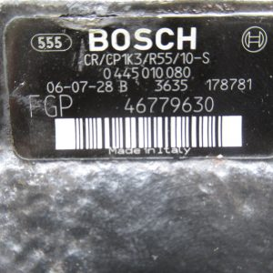 Pompe injection Bosch Fiat 500 1,3 JTD 75CV  0445010080