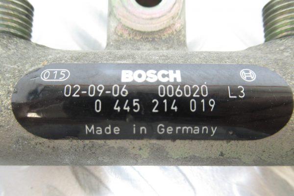 Rampe Injection Bosch Peugeot Partner 2L HDI 90CV 0445214019