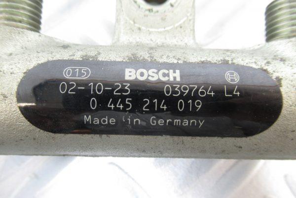 Rampe Injection Bosch Peugeot 307 2L HDI 0445214019