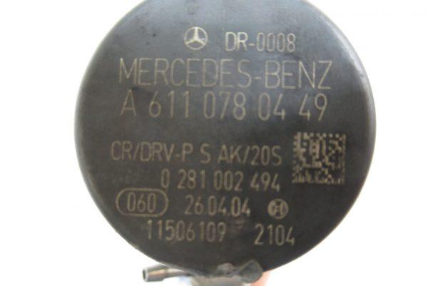 Rampe Injection Bosch Mercedes Vito W639 2.2 CDI 0445214038 / A6110700395