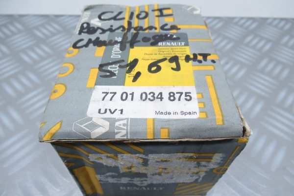 Résistance de chauffage Renault Kangoo 1 7701034875