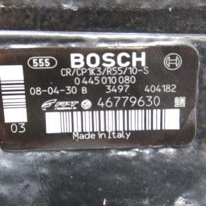 Pompe injection Bosch Fiat Doblo 1,3 JTD  85CV  0445010080 / 46779630