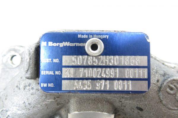 Turbo Renault Clio 3 1.5L DCI 54359710011 / 507852H301868