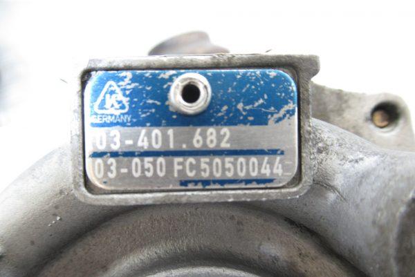 Turbo Peugeot 307 2L HDI 53041015096 / 03-401.682