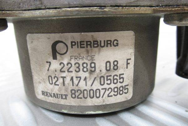 Pompe a vide Pierburg Renault Megane 1,9 DCI  8200072985