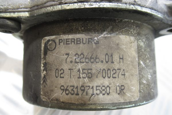 Pompe a vide Pierburg Peugeot 807 2,2 HDI 128CV  9631971580