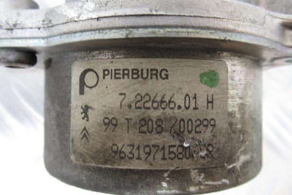 Pompe a vide Pierburg Peugeot 607 2,2 HDI  9631971580