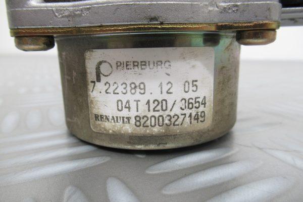 Pompe à vide Pierburg Renault Clio 2  1,5 DCI 65CV  7223891205 / 8200327149