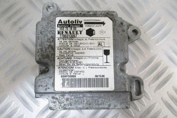 Calculateur d'airbag Renault Kangoo 7700313267