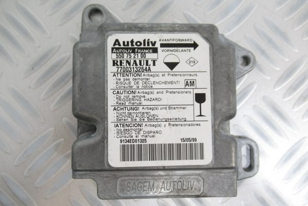 Calculateur d'airbag Renault Master 7700313264A