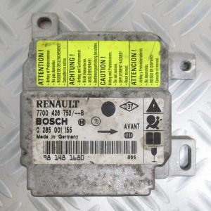 Calculateur d'airbag Bosch Renault Clio 2 7700426752 / 0285001155