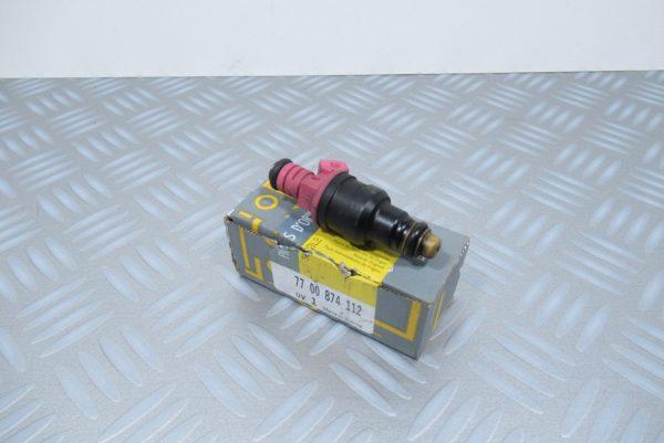 Lot 4 injecteurs Renault Clio 1 7700874112