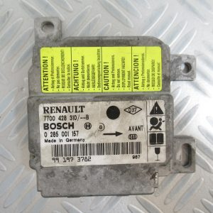 Calculateur d'airbag Bosch Renault Clio 7700428310 / 0285001157