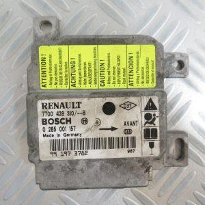 Calculateur d'airbag Bosch Renault Clio 7700428310 / 0285001157