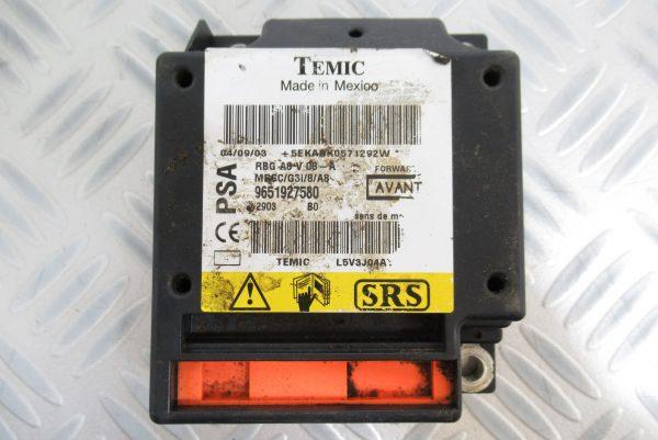 Calculateur d'airbag PSA Citroen C3 / 9651927580