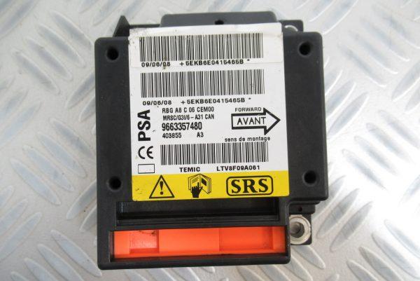 Calculateur d'airbag PSA Citroen C3 9663357580