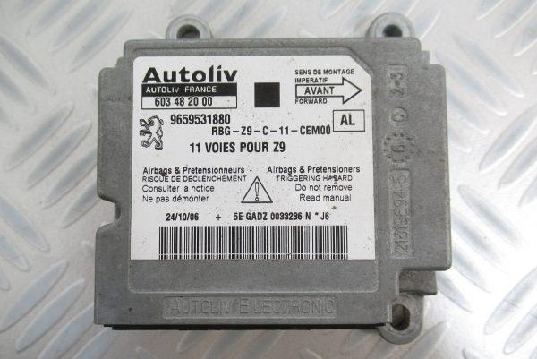 Calculateur d'airbag Peugeot 607 9659531880 / 603482000