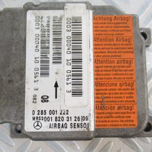 Calculateur d'airbag Mercedes Classe A W168 0285001222