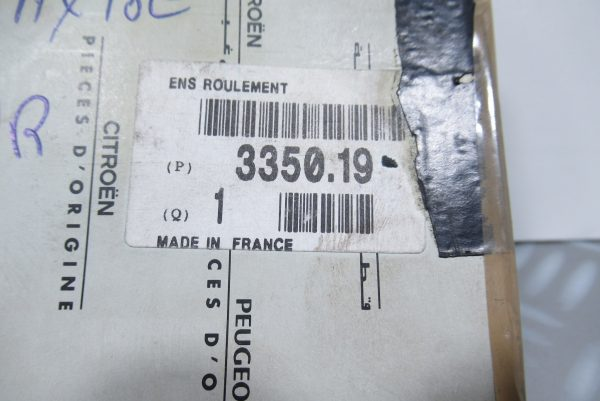 Roulement de roue arrière PSA Peugeot 106 3350.19