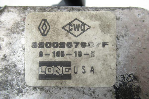 Radiateur d'huile Renault Clio 2  1,5 DCI 70CV  8200267937F
