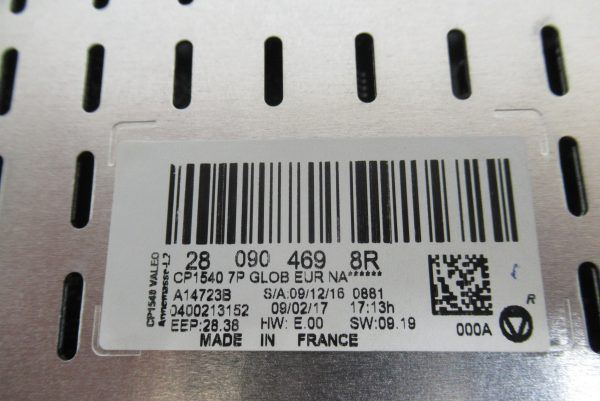 Ecran multi fonction Valeo Renault Megane 4  2809044698R