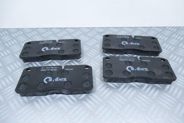 Plaquettes de frein avant Abex Iveco EuroCargo G6487