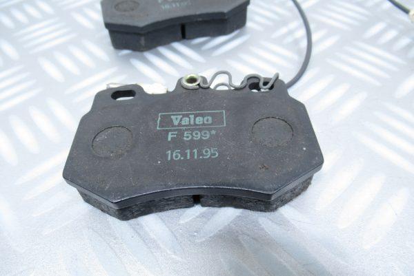 Plaquettes de frein Valeo Citroen AX 598714