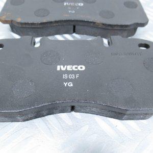 Plaquettes de frein Iveco EuroCargo 1906416