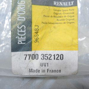 Support de pare choc arrière Renault 7700352120