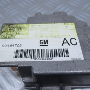Calculateur d'airbag General Motors Opel Vectra B 90464705