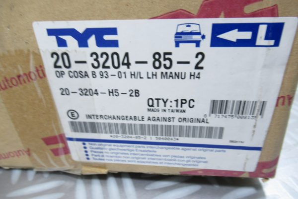 Optique avant gauche Opel 203204852