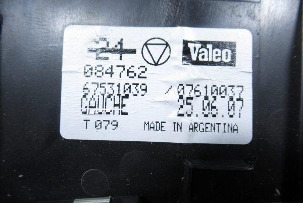 Optique avant gauche Renault 084762