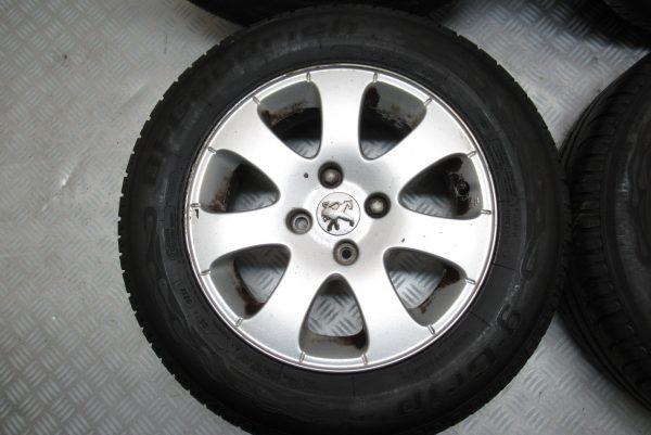 Jantes alu x4 Peugeot 307