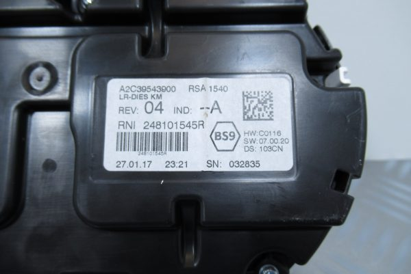 Compteur Renault Megane 4
