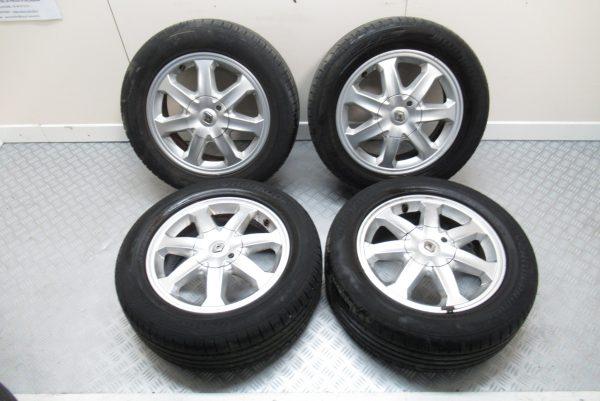 Jantes alu x4 Renault 8200145634