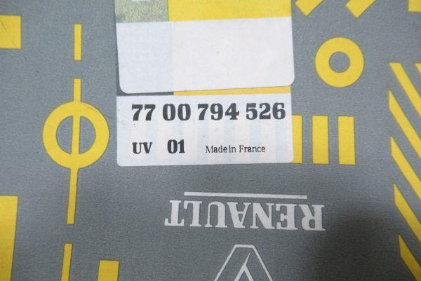 Enjoliveur central jante alu Renault R25 7700794526