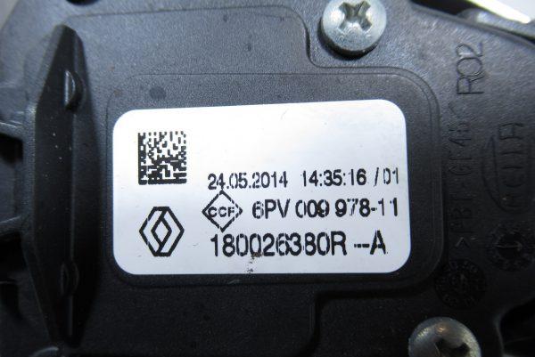 Pédalier de frein et d'accelerateur Renault Clio 4GT