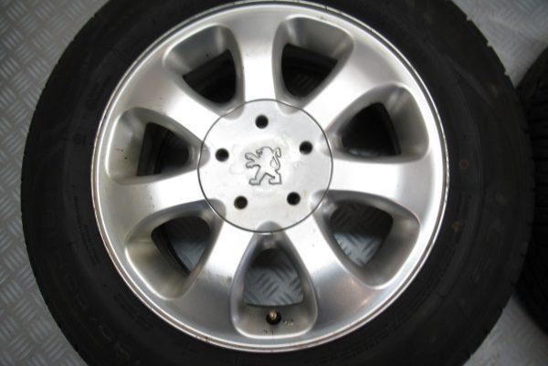 Jantes alu x4 d'origine Peugeot 607 195X60 R15