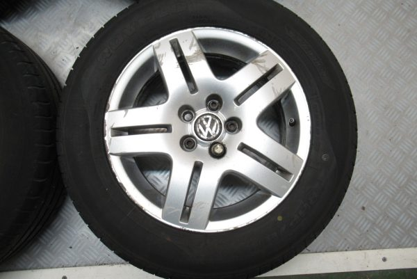 Jantes alu x4 d'origine Volkswagen Golf 4 195×65 R15