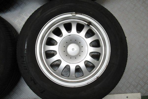 Jantes alu x4 d'origine BMW Série 5 E39 225×60 R15