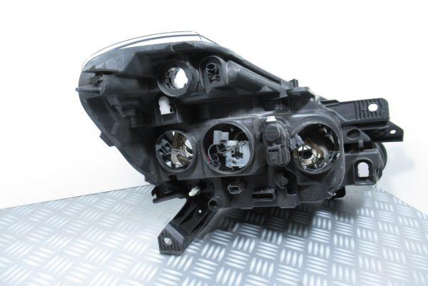 Optique avant gauche avec loupe Renault Clio 3 Ph2 260606716R
