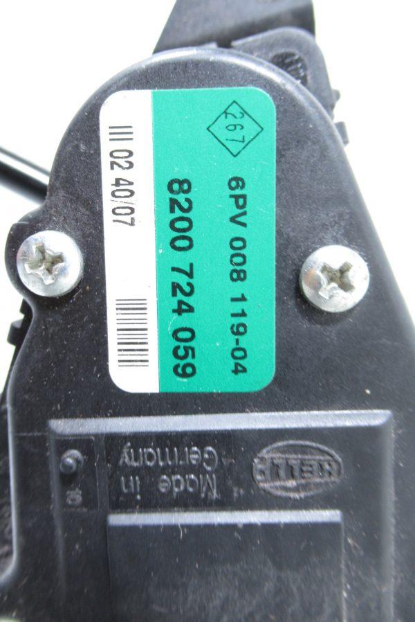 Pédale d'accelerateur Renault Master 2 8200724059