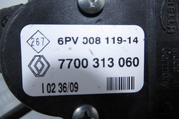 Pédale d'accelerateur Renault Trafic 2 7700313060