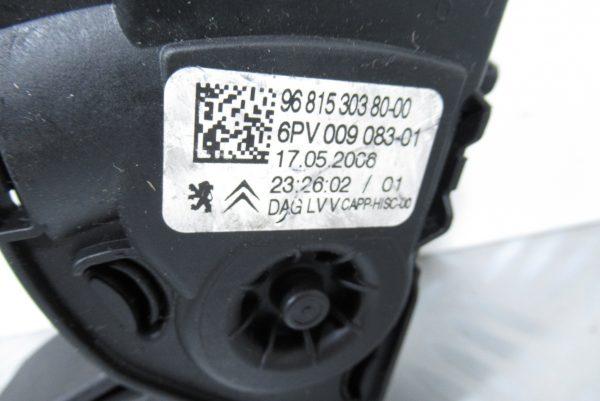 Pédale d'accelerateur Citroen C3 9681530380