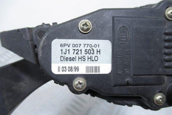Pédale d'accelerateur Audi A3 1J1721503