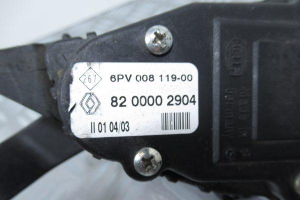 Pédale d'accelerateur Renault Laguna 2 8200002904