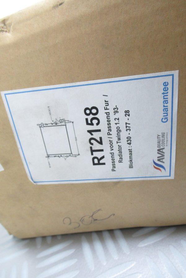 Radiateur moteur Renault Twingo 1 RT2158