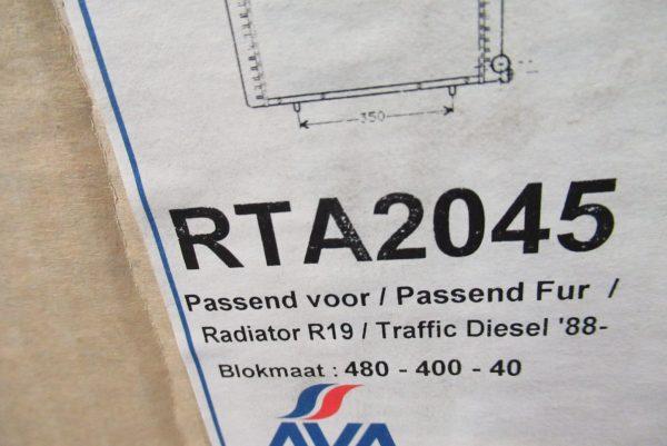 Radiateur moteur Renault RTA2045