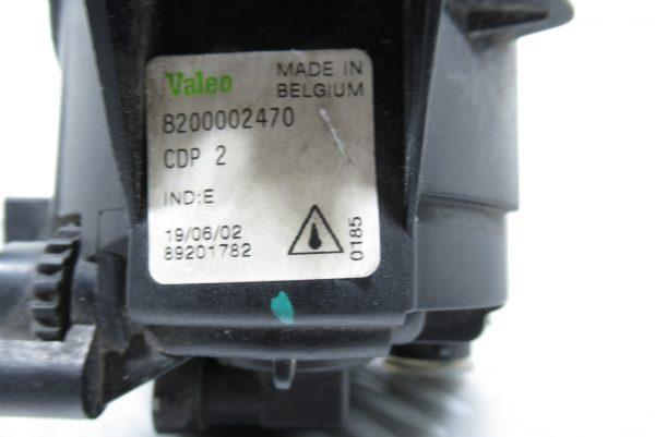 Anti brouillard avant droit Valeo Renault Laguna 2  8200002470 – 89201782
